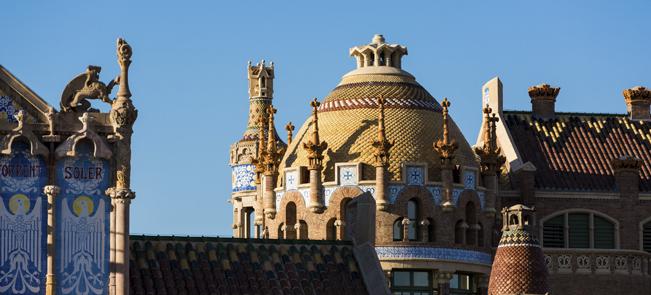 Barcelona - Recinte Modernista de l'Hospital de Sant Pau